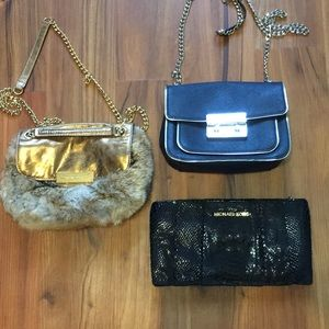 Michael Kors Lot of 3 Handbags!